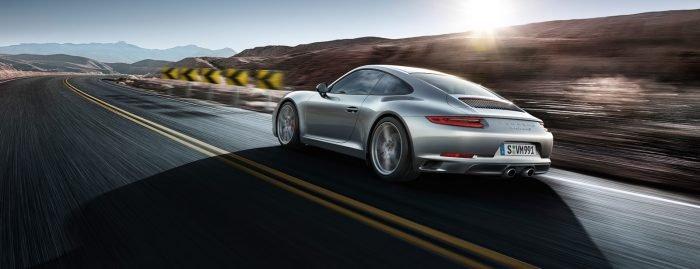 Porsche 911 Carrera 2 rear 3/4