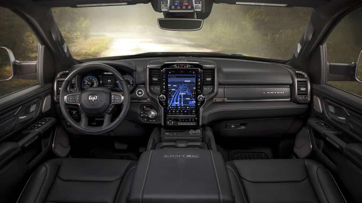 2019 Ram 1500 Limited interior
