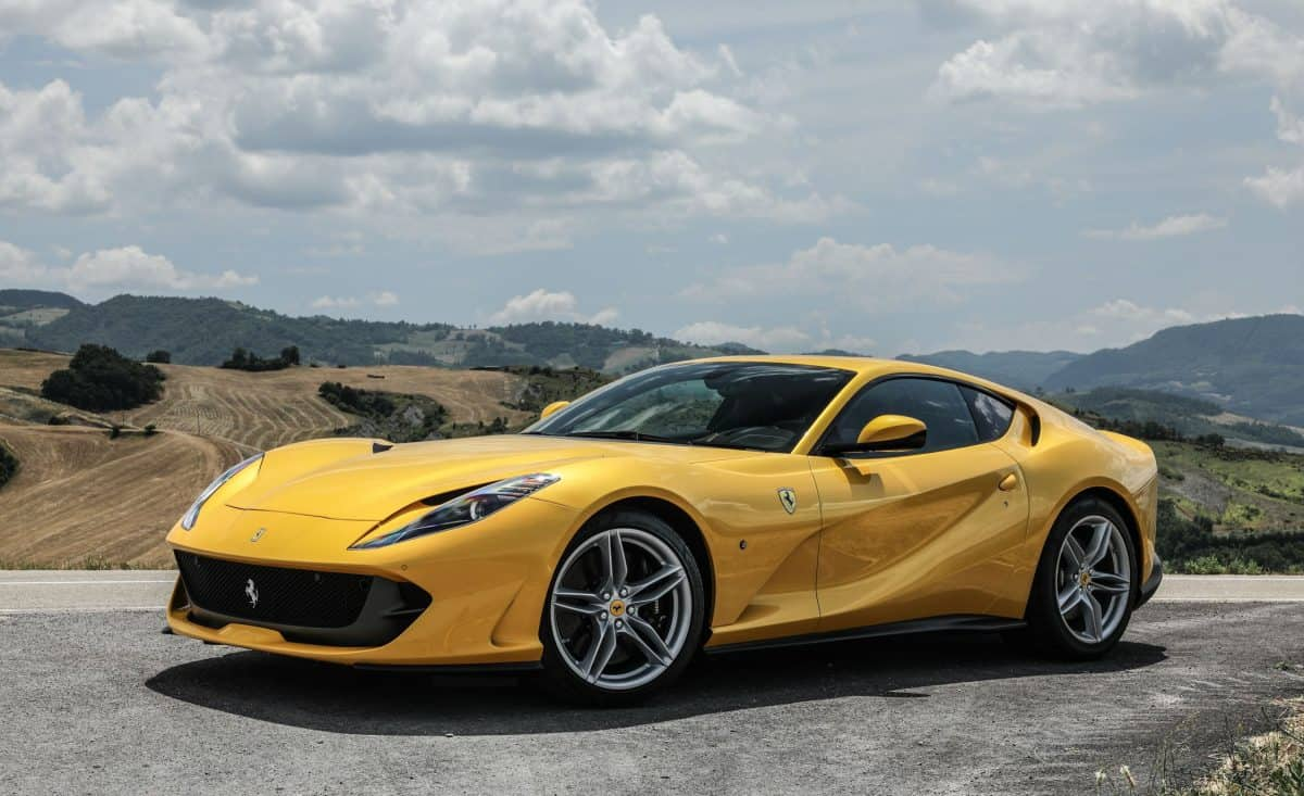 The Ferrari 812 Superfast is the most powerful Ferrari model available in 2019