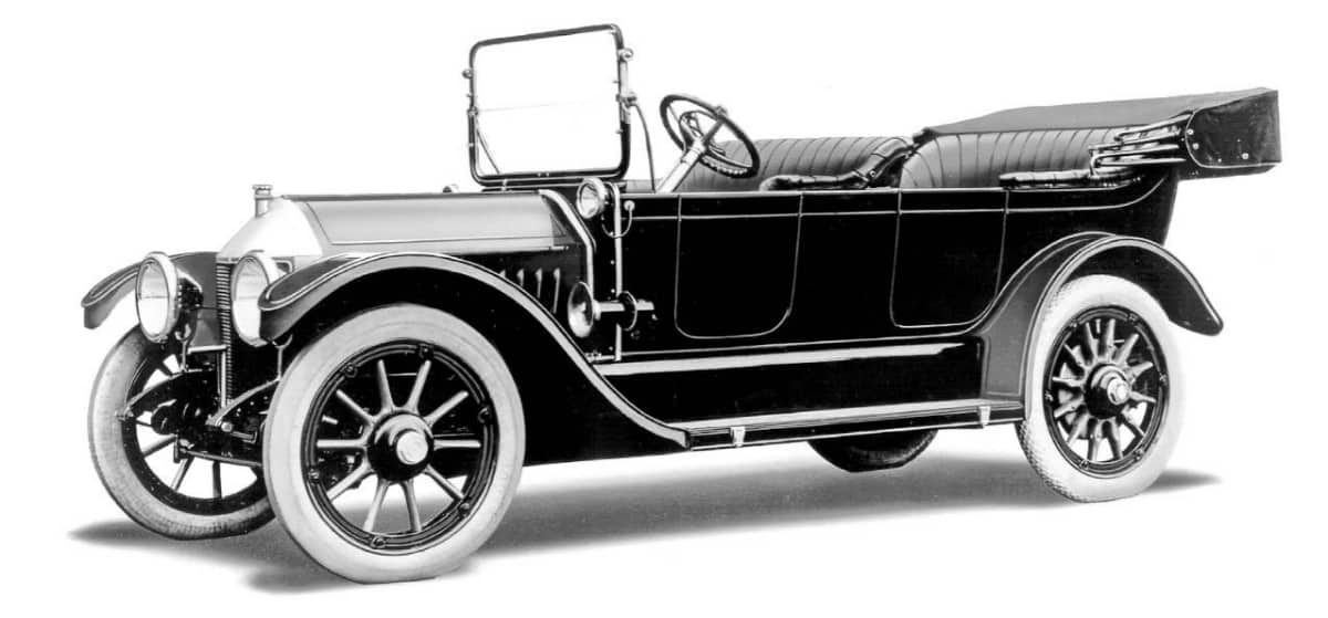 1912 Chevrolet Series C Classic Six - left side view