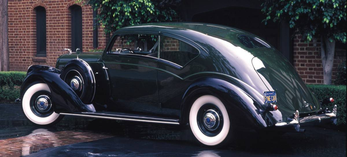 1938 Lincoln Model K Touring Coupe - left side view
