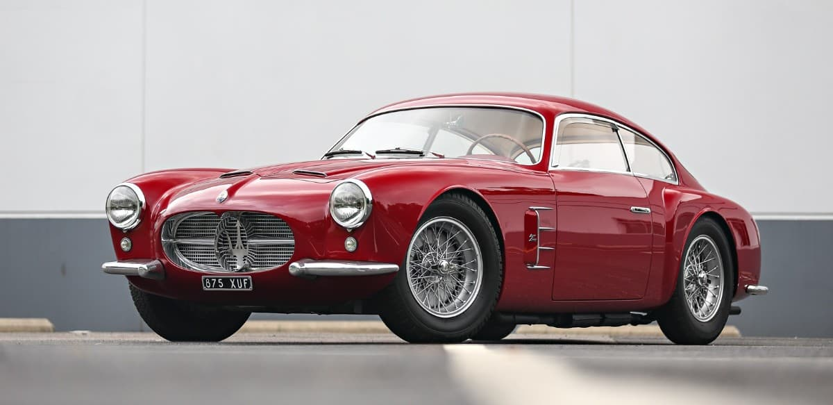 1956 Maserati A6 G54 left front view