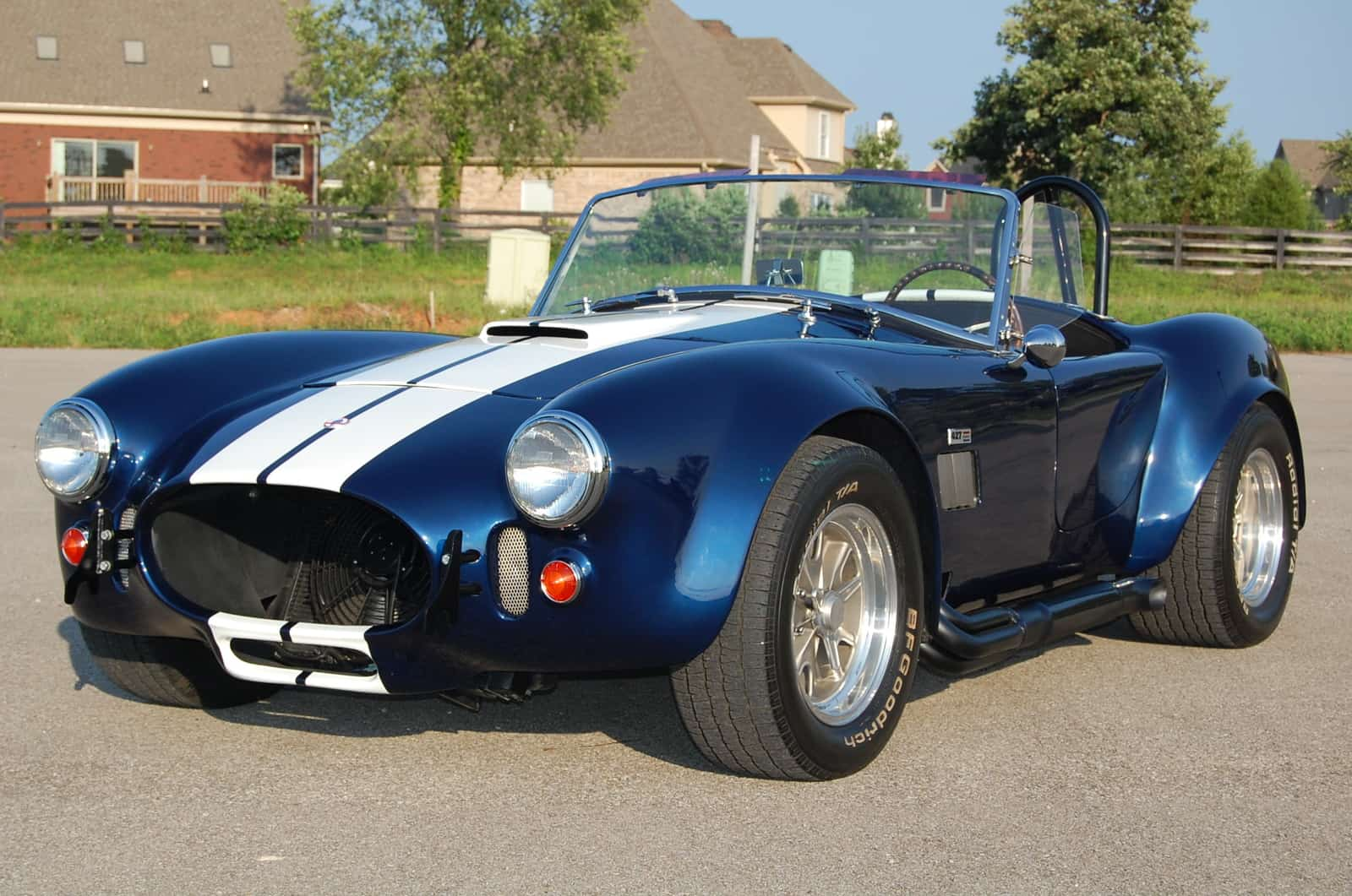 The Shelby Cobra is perhaps the most iconic American sports car ever made