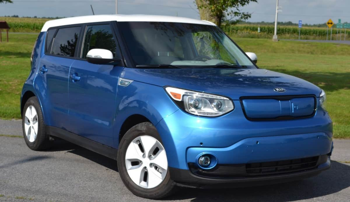 2015 Kia Soul EV - right front view
