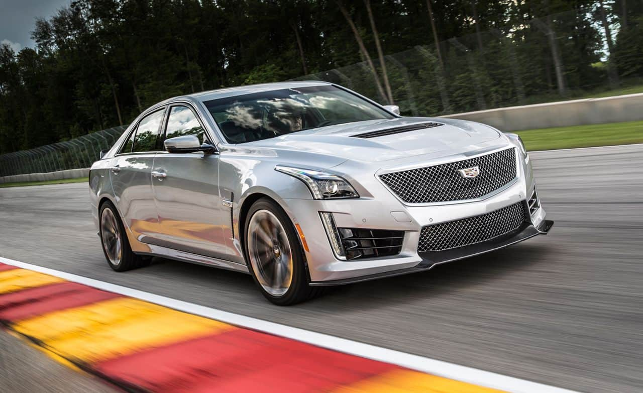 The Cadillac CTS-V is one of the most respected American sports cars still available