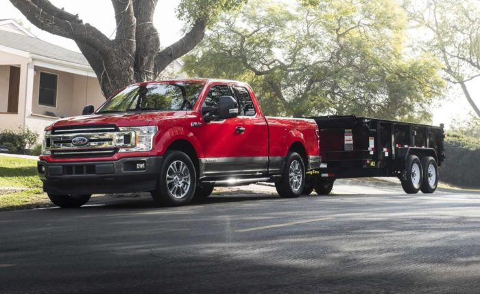 Ford F150s make great platforms for show trucks