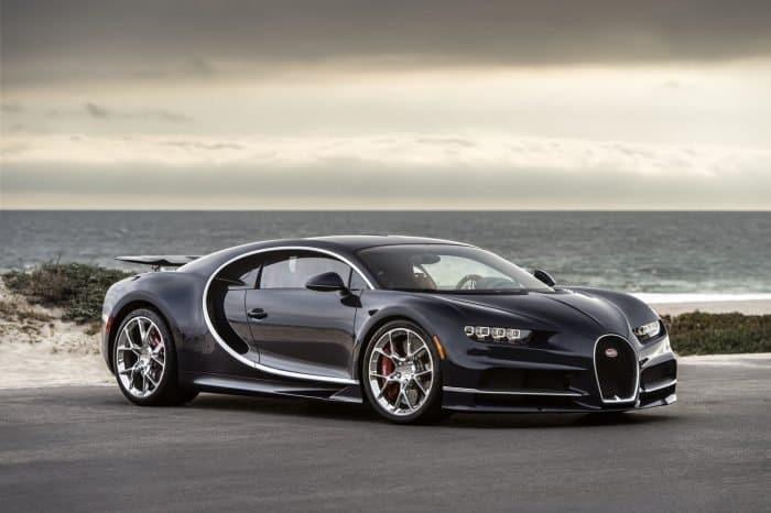 Bugatti Chiron Front 3/4