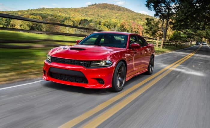 The Dodge Charger SRT may be one of the best V8 engine cars on the market