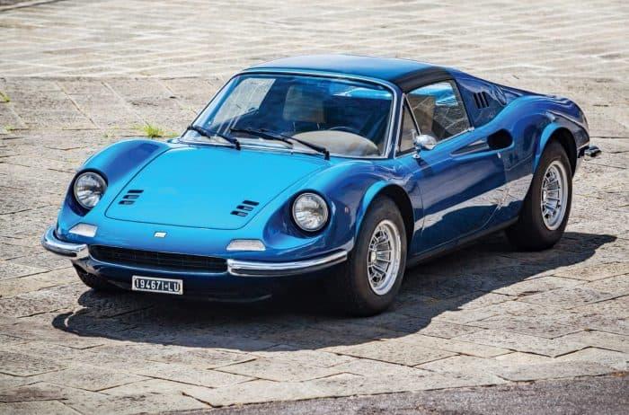 Ferrari Dino Front 3/4 Top