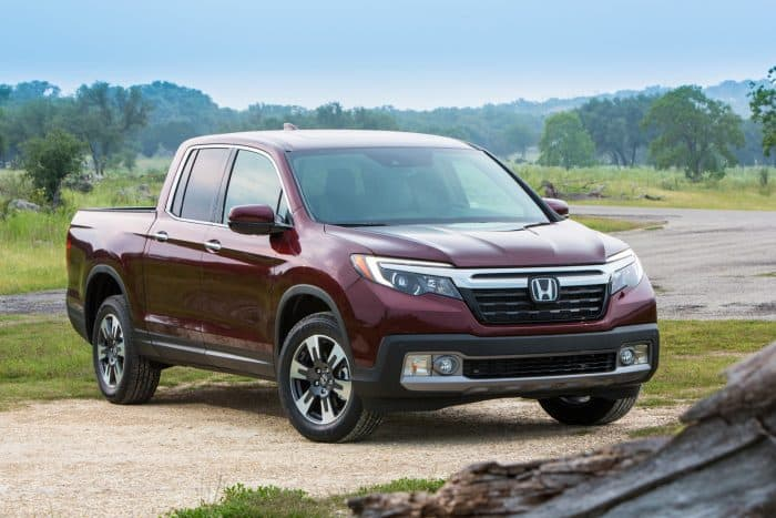 The redesigned Honda Ridgeline is one of the fastest production trucks available