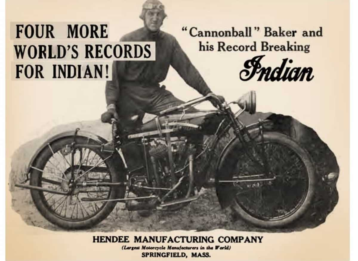 Indian Motorcycles - Cannonball Run