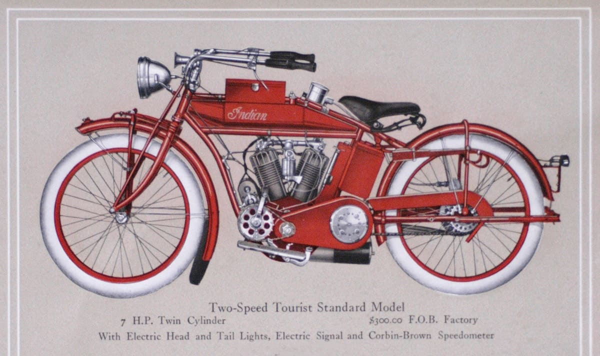 Indian Motorcycles - Early Model