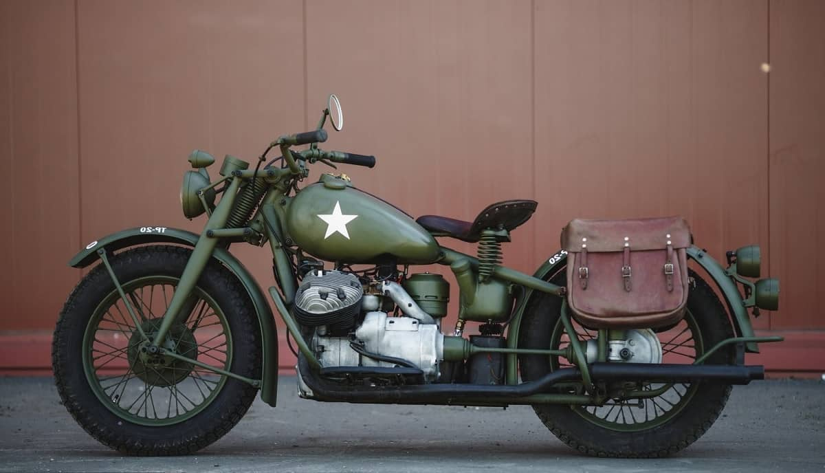Indian Motorcycles - World War II