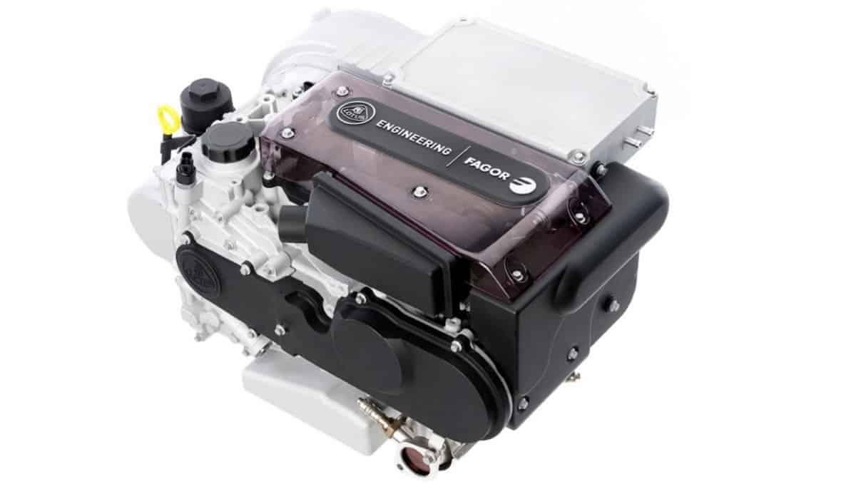 Lotus Range Extender Engine - top view