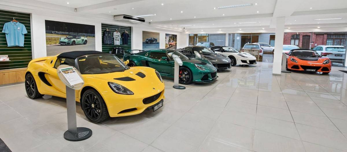 Lotus dealerships