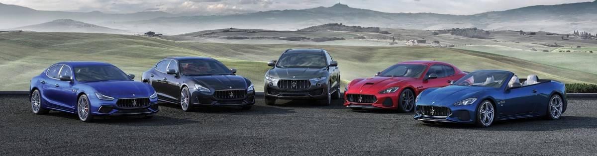 Maserati vehicle lineup