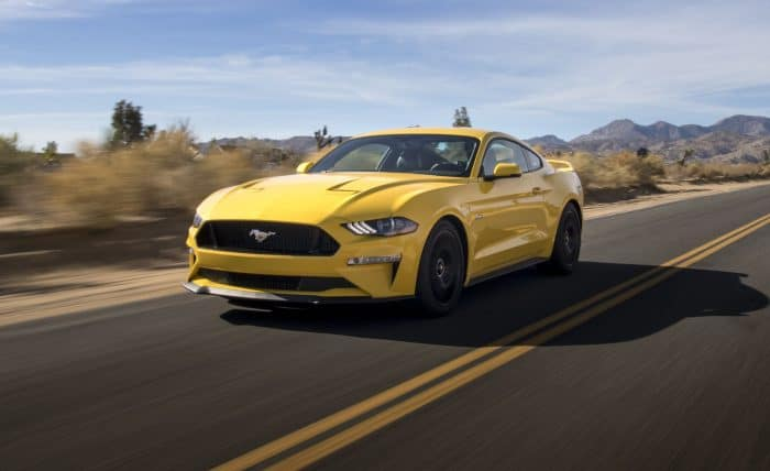Ford Mustang GT front 3/4 rolling
