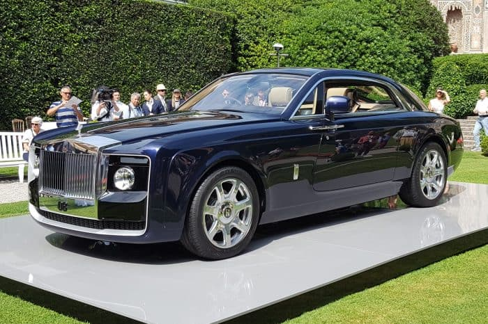 Rolls Royce Sweptail Front 3/4