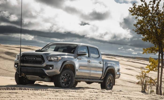 The Toyota Tacoma is one of the fastest production trucks on the market