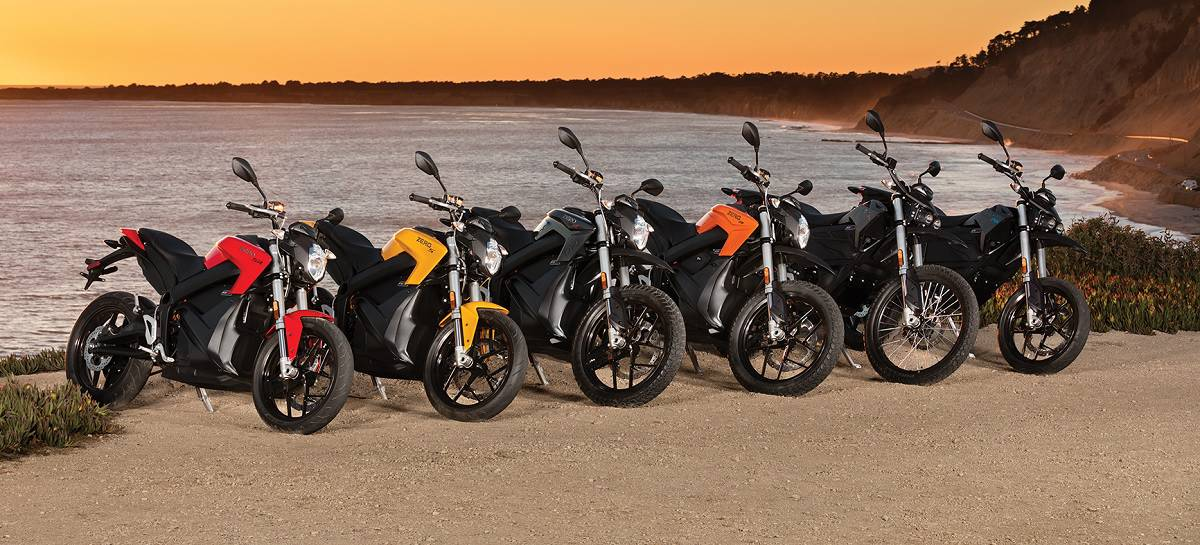Zero Motorcycles Line-Up