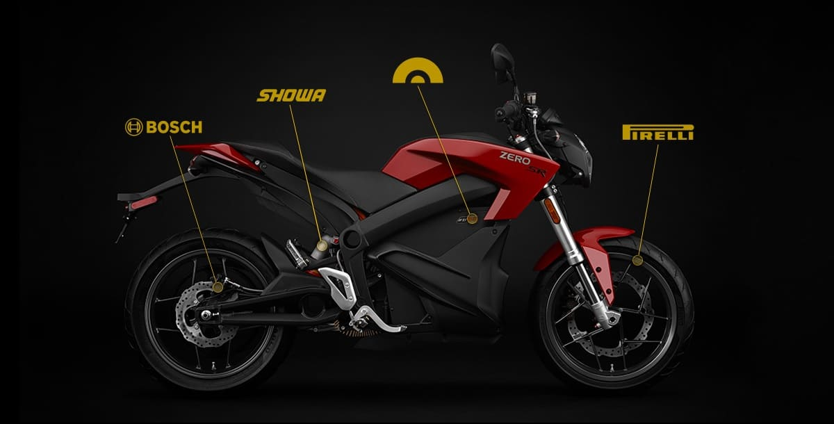Zero Motorcycles - Modern Technology