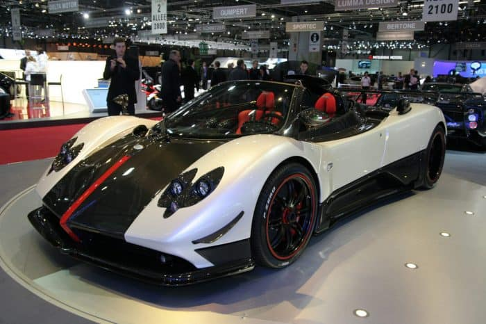 Pagani Zonda Cinque Roadster Autoshow
