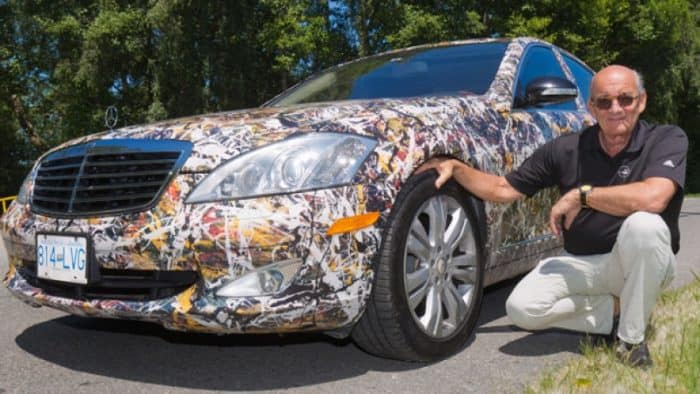 Canadian Mercedes - cool car wraps