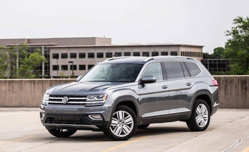Volkswagen Atlas front 3/4 view