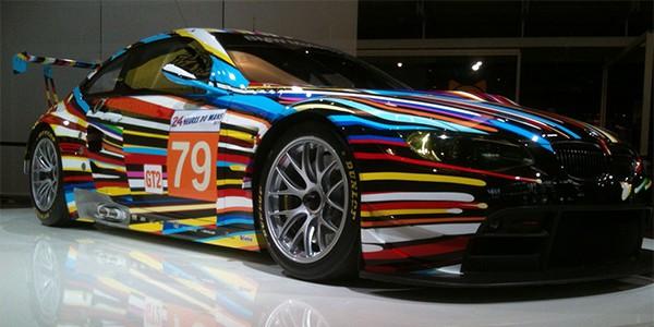 BMW Art Car - Cool car wraps
