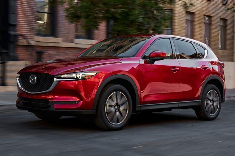 Mazda CX-5 front 3/4 view