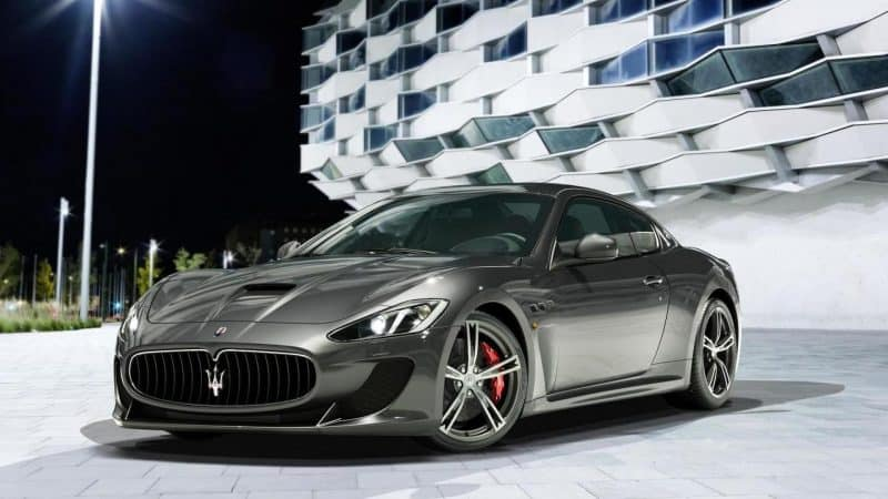Maserati GranTurismo Coupe front 3/4 view