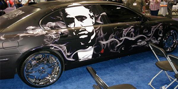 Godfather cool car wrap