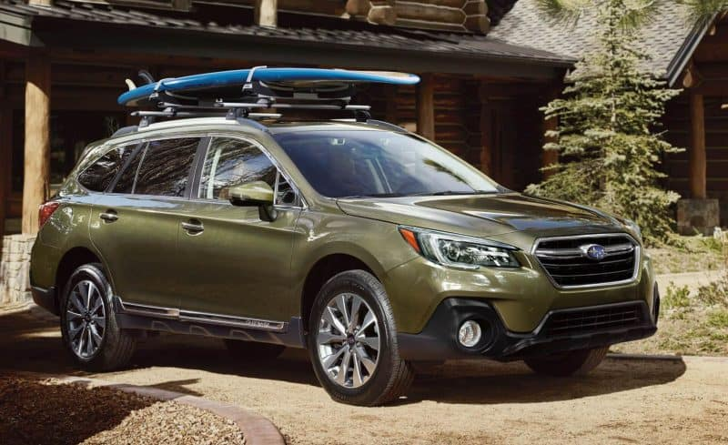 Subaru Outback front 3/4 view