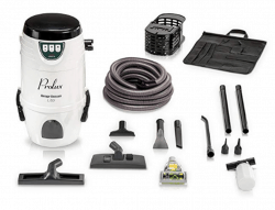 Lite Professional wall-mount car wash vacuum by Prolux