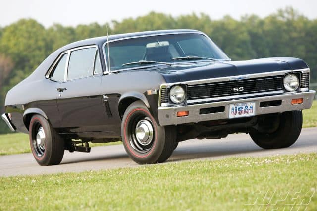 The Chevy Nova SS is a great cheap classic muscle car