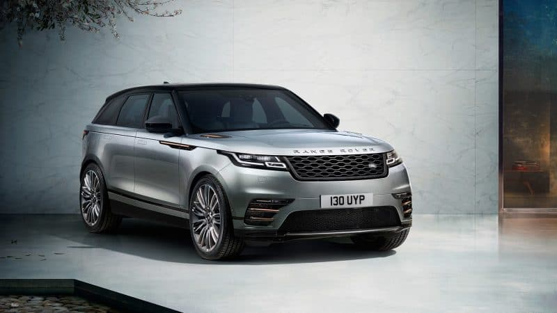 Land Rover Range Rover Velar front 3/4 view