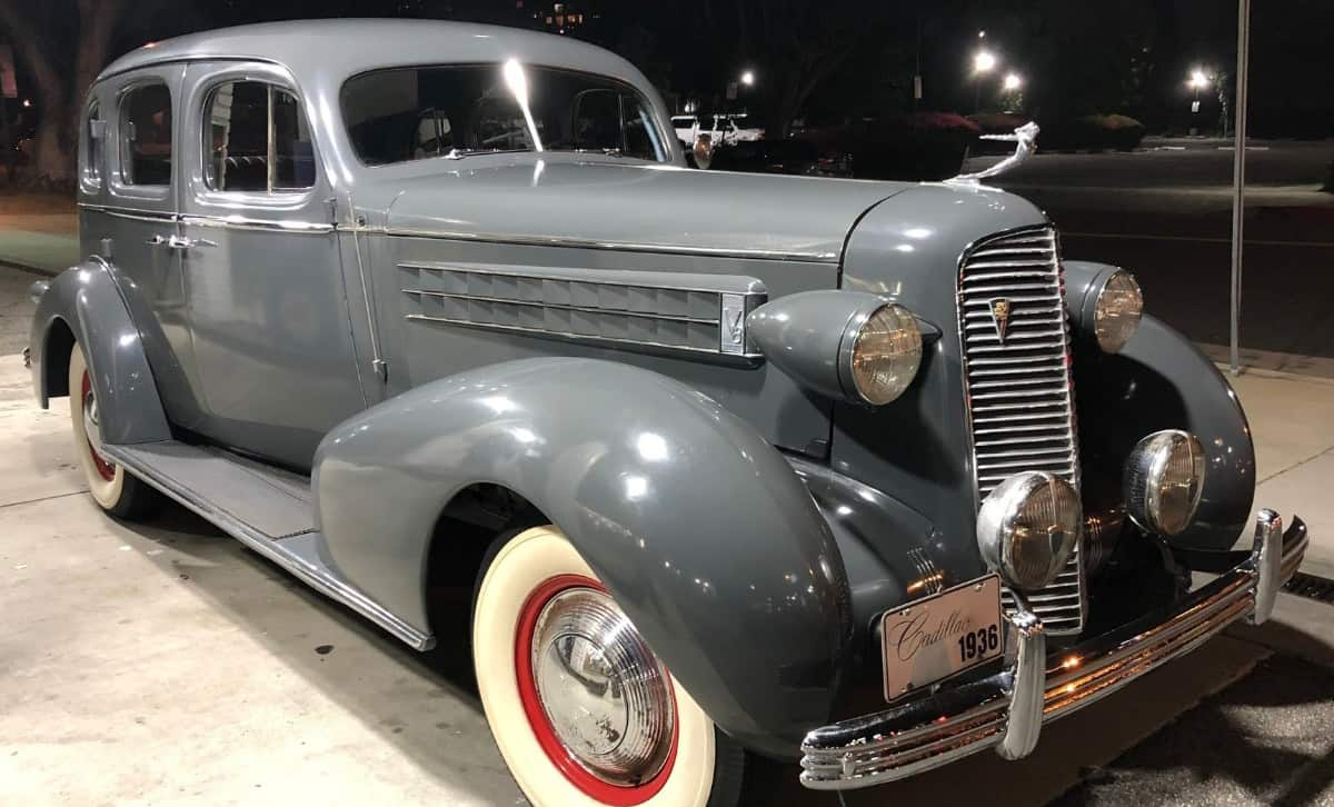 1936 Cadillac Series 60 - right front view