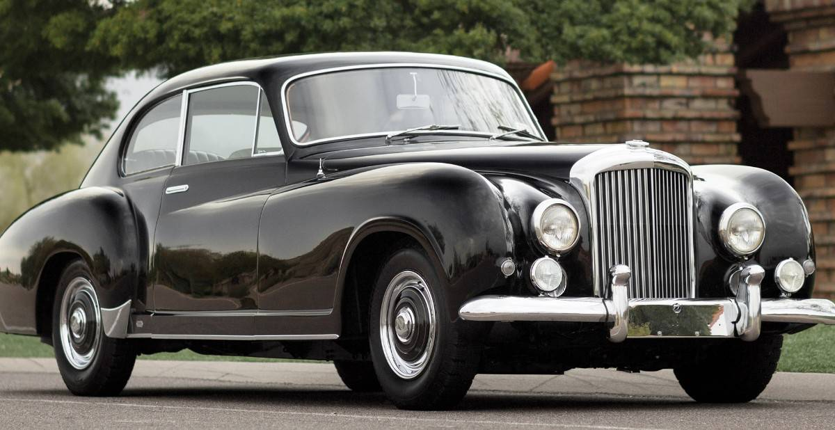 1954 Bentley R Type Continental - passenger side front view