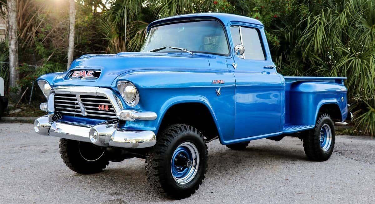 1957 GMC 4x4 pickup