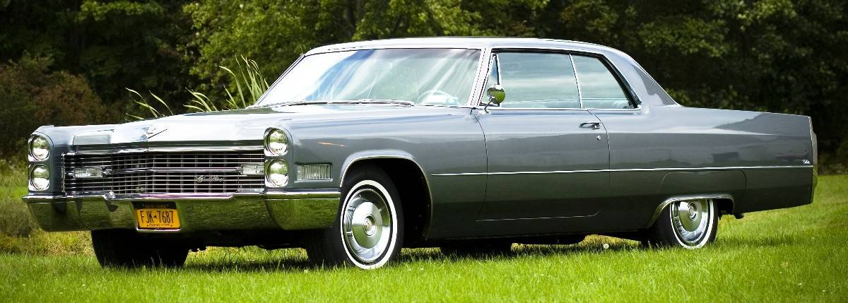 1966 Cadillac Coupe deVille - left side view