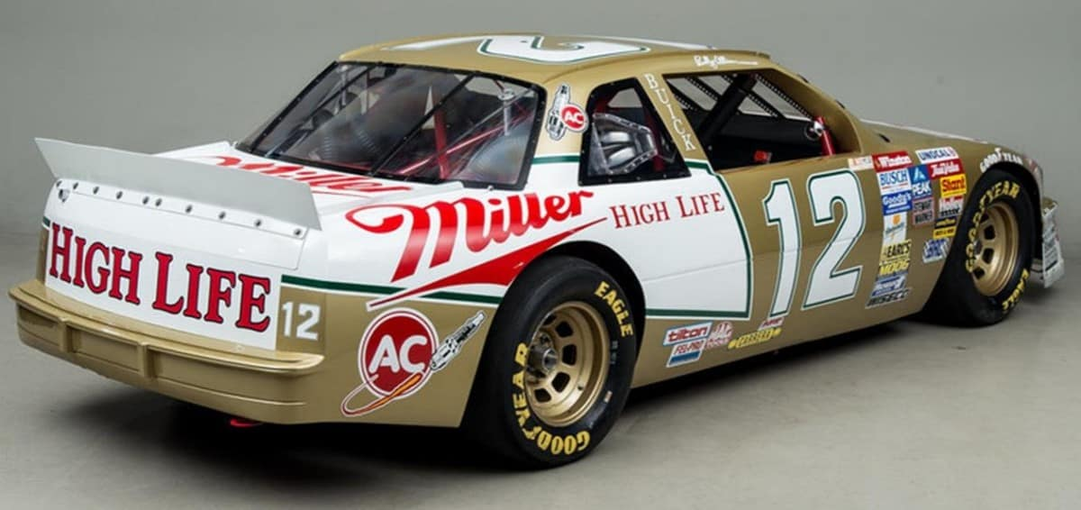 1988 Buick Regal NASCAR - right rear view