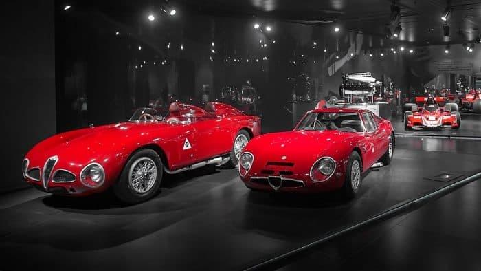 Alfa Romeo Museum in Milan