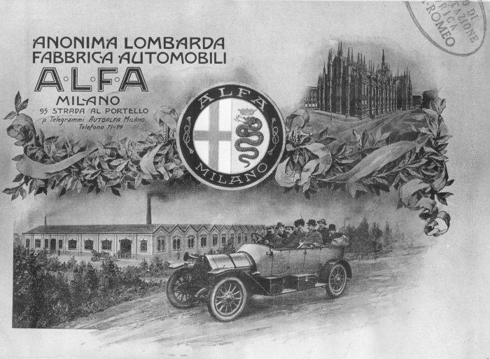 Alfa Romeo original poster