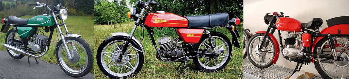 Beta Motorcycles - Early Models