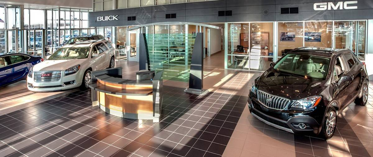 Buick dealerships - inside view