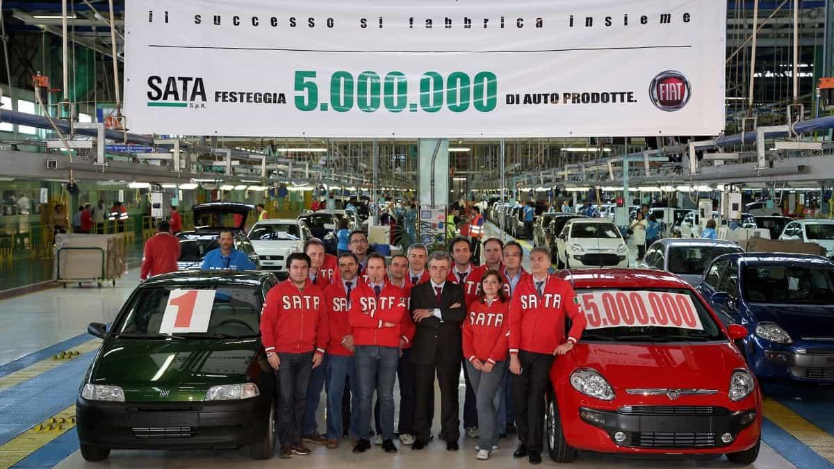 FIAT SATA plant Melfi, Italy