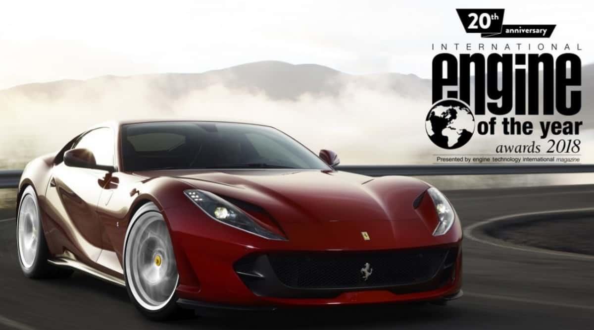 Ferrari Engine of the year - turbocharged v-8