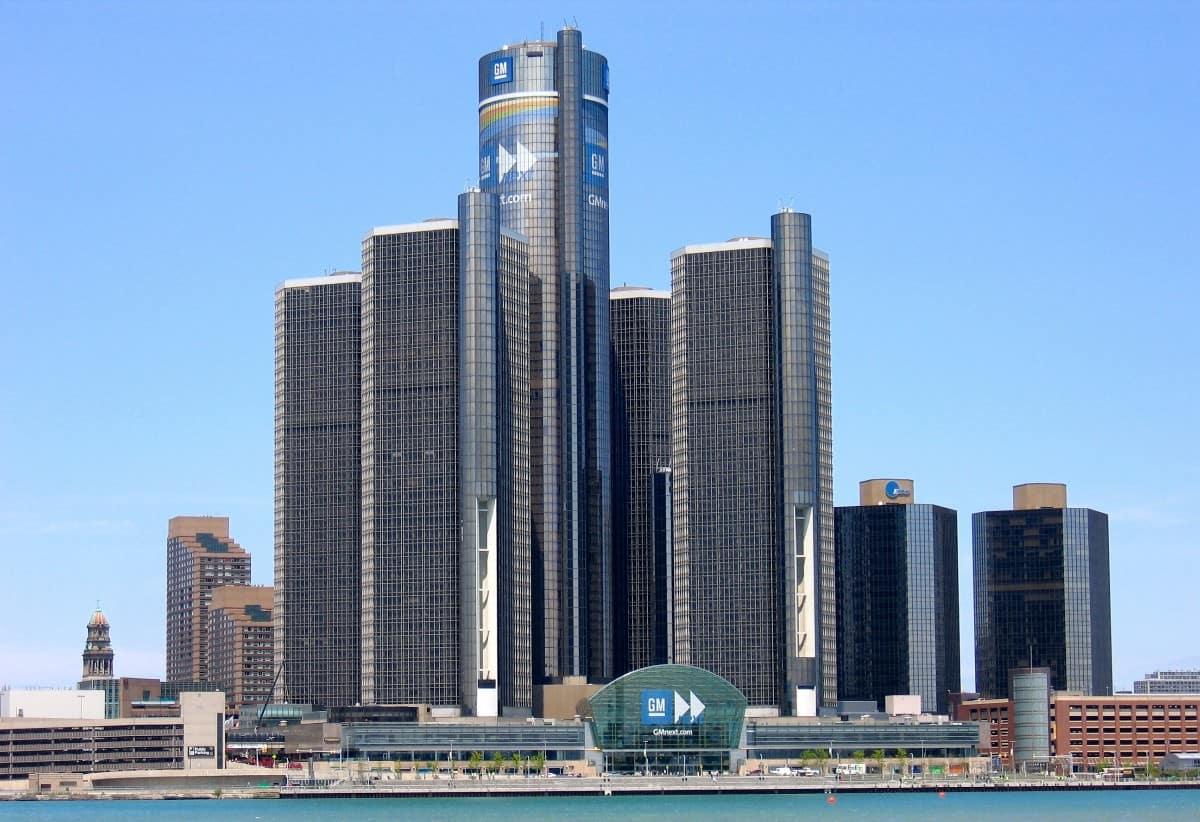 GM headquarters Detroit MI