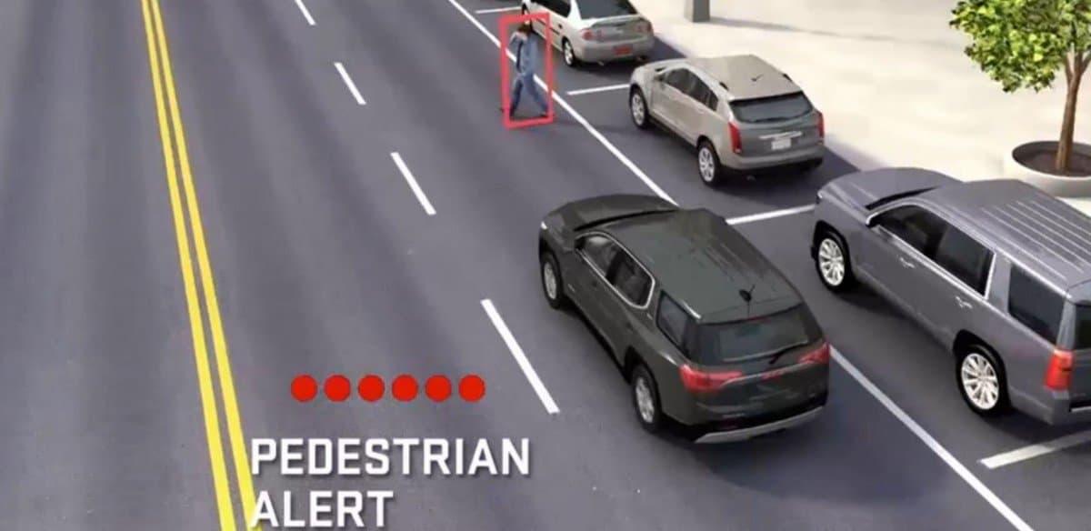 GMC Front Pedestrian Braking - safety equipment
