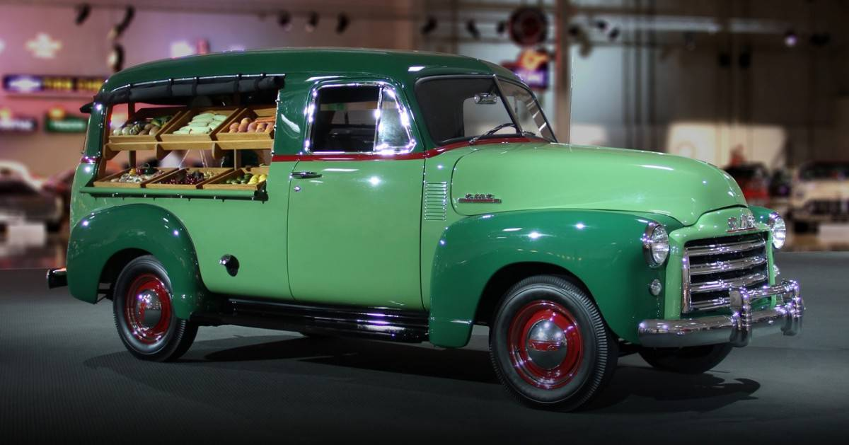 General Motors Heritage Center - 1951 GMC Canopy Express